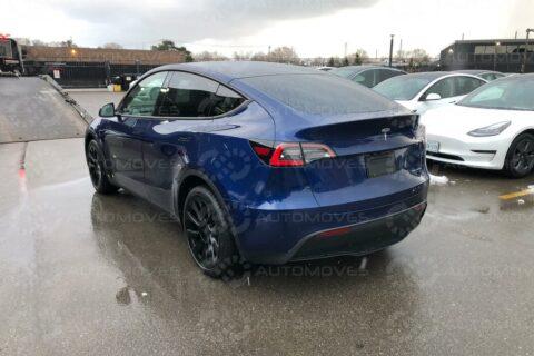 Shipping Tesla Model Y