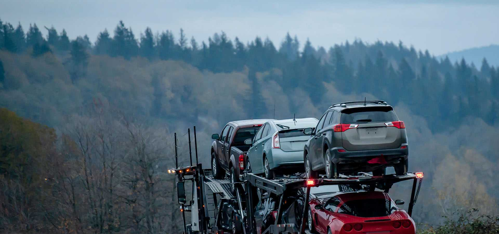 Dependable car shipping across Canada